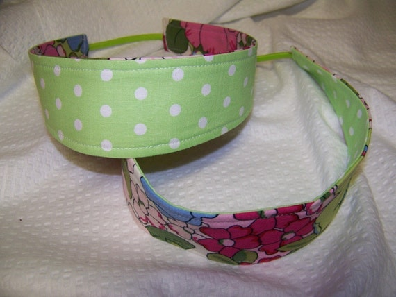 Reversible Headband Pdf Pattern 2 sizes, Adult or child sizes,Easy Tutorial Great for beginners Free Shipping