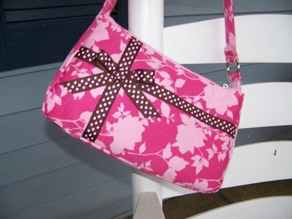 Easy Handbag Pattern : Small Easy Zipper Handbag Pdf Pattern Tutorial by civilwarlady