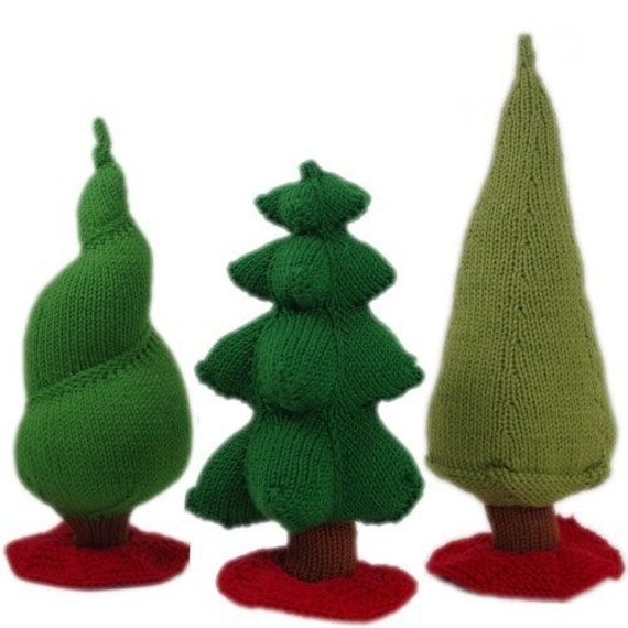 Oh Christmas Trees PATTERN - PDF Download