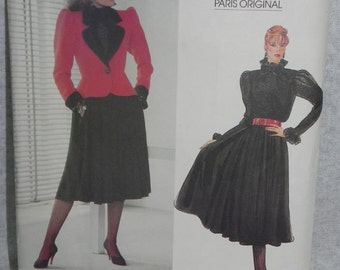 Vogue Paris Original pattern by Yves Saint Laurent