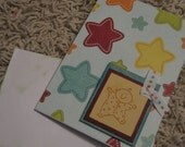 That Baby Is A Star SINGLE card with envelope