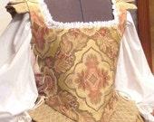 Middle or Merchant Class RENAISSANCE Elizabethan Gown Custom Sized for YOU