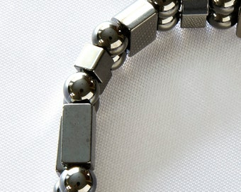 Magnetic Therapy Bracelet Double Strand rounds rectangles and squares for Men and Women