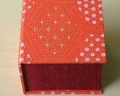 Small Jewelry / Ring / Gift Box in Red