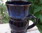 Coffee Tea Stoneware Mug in Black