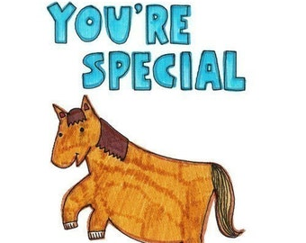 Felt Tip Fun Card - You're Special