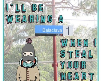 Melbourne Card - Balaclava