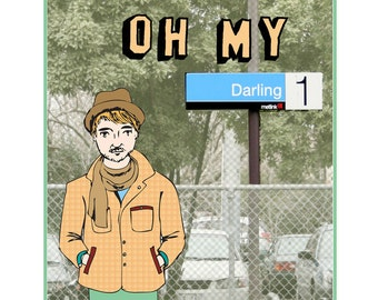 Melbourne Card - Oh My Darling