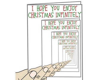 Christmas Card - Infinitely Christmas