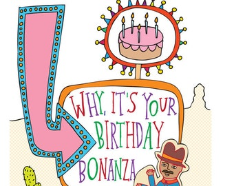 US Sign Card - Birthday Card