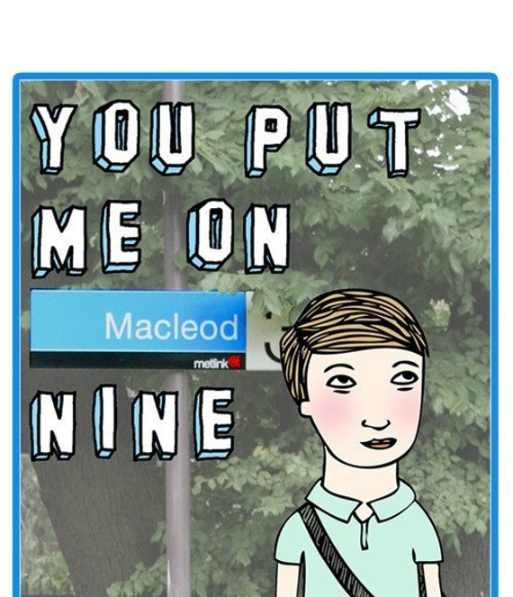 Melbourne Card - Macleod Nine