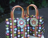 Gumdrop Glam, Designer Mini Handbag- Card and Gift Holder