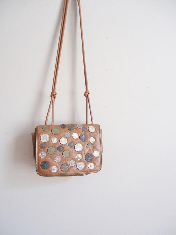happy cyber monday sale vintage coin OTELLO hobo shoulder bag