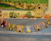 Easter Banner-Easter Garland-Easter Sign-Easter Gift-Spring Banner-Bunny Butts Banner-Easter Bunny Banner-Happy Easter Banner-Easter Decor