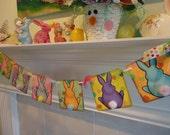 Easter Banner-Easter Garland-Easter Sign-Easter Gift-Spring Banner-Bunny Butts Banner-Easter Bunny Banner-Happy Easter Banner-Easter Decor