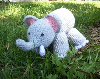Ollie the Oliphant/ Stuffed Elephant/ Plush Children's Toy