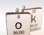 Custom Periodic Table Cufflinks