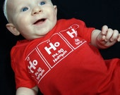 HoHoHo Red Infant and Childrens Science TShirt - Toddler Size 4