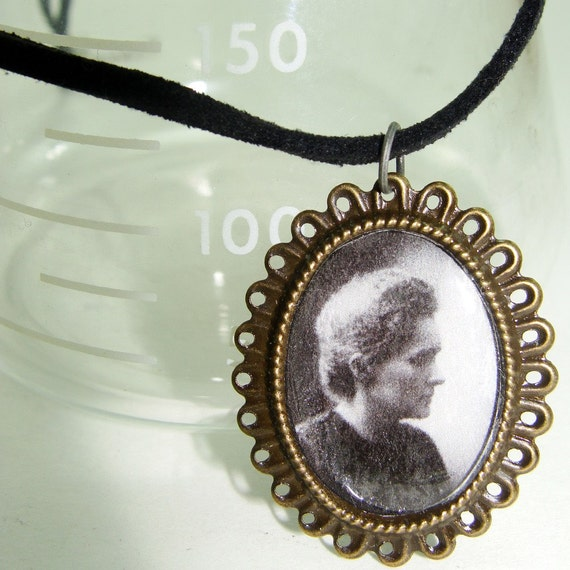 Geekapalooza Necklace Number 1 - Marie Curie