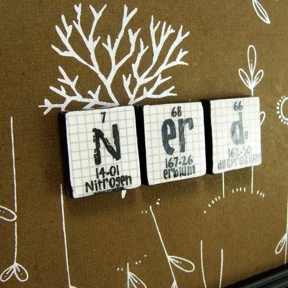 Nerd Brown Sign