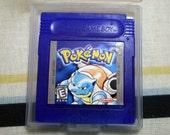 Pokemon Soap Blue Nintendo Cartridge Parody By DigitalSoaps, Black Tea Scent