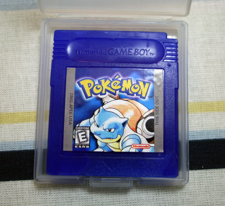 Pokemon Soap Blue Nintendo Cartridge Parody By DigitalSoaps