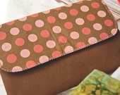 Pink Polka Dots Purse