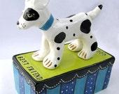 Best Friend Good Dog Clay Sculpture