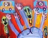 Ass Hands Art Brut RAW Outsider Visionary Naive WILD Elisa