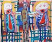 Caged Criminals Outsider Art Brut RAW Visionary Naive Primitive Elisa