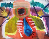 Dissected Alive Outsider Art Brut RAW Visionary Naive Primitive Elisa