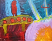 Out Of Mind Trip Outsider Art Brut RAW Visionary Naive Primitive Elisa