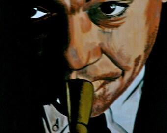 Wynton Marsalis on Canvas
