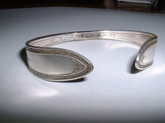 Vintage Silver Spoon Handcreated Bracelet SALE