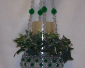 Beaded Hanging Basket