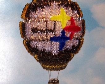 Lighted Hot Air Balloon - Steelers Design