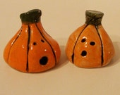 Set of Two Jack o' Lanterns