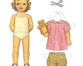 Oliver and S Puppet Show Tunic Dress and Shorts Pattern size 3 months - 24 months