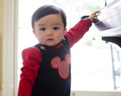 Mickey Mouse Boys Shortall or Longall sizes 3mon- 4T available