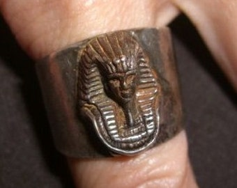Vintage Mummy Ring Sterling 925 Ring