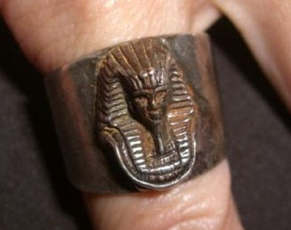 Vintage Mummy Ring Sterling 925 Ring