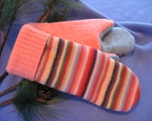 SALE - Silly Stripes Recycled Wool Mittens
