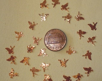 Pegasus Copper Cut-outs - Hand Punched - Katie Gee - Lampworking Supplies