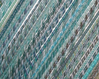 Seafoam - Handmade 104 coe Glass Twisties - Katie Gee - SRA