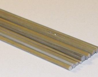 Silvered Dark Ivory - Handmade / Handpulled Silvered Stringers - 104 coe Glass - Katie Gee - SRA
