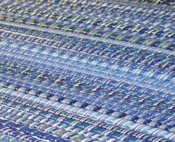 Soothing BLUES - Handmade 104 coe Glass Twisties - Katie Gee - SRA