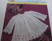 Vintage Baby Angel Top Crochet Pattern