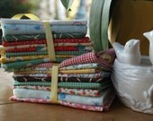 Fabric Stash Sale--3 Bundles of 9 Fat Quarters in Lovely, Lovely Prints