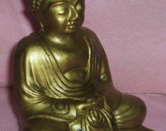 SMALL BUDDHA STATUE For Gardens or Homes or Altars