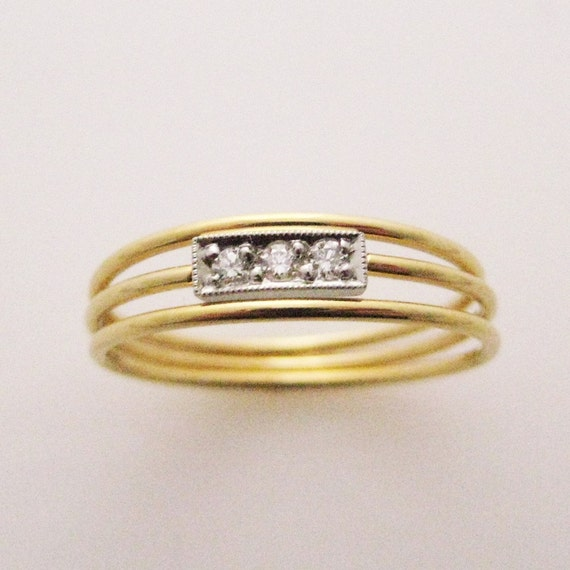 Svea and Duet  Set in 18K Gold